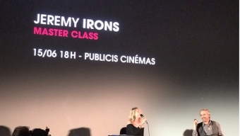 Palmarès du Champs-Elysées Film Festival 2015 et master class de Jeremy Irons