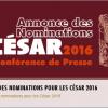 César 2016 : les nominations complètes