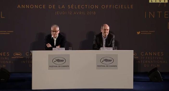 Conférence de presse Cannes 2018 3