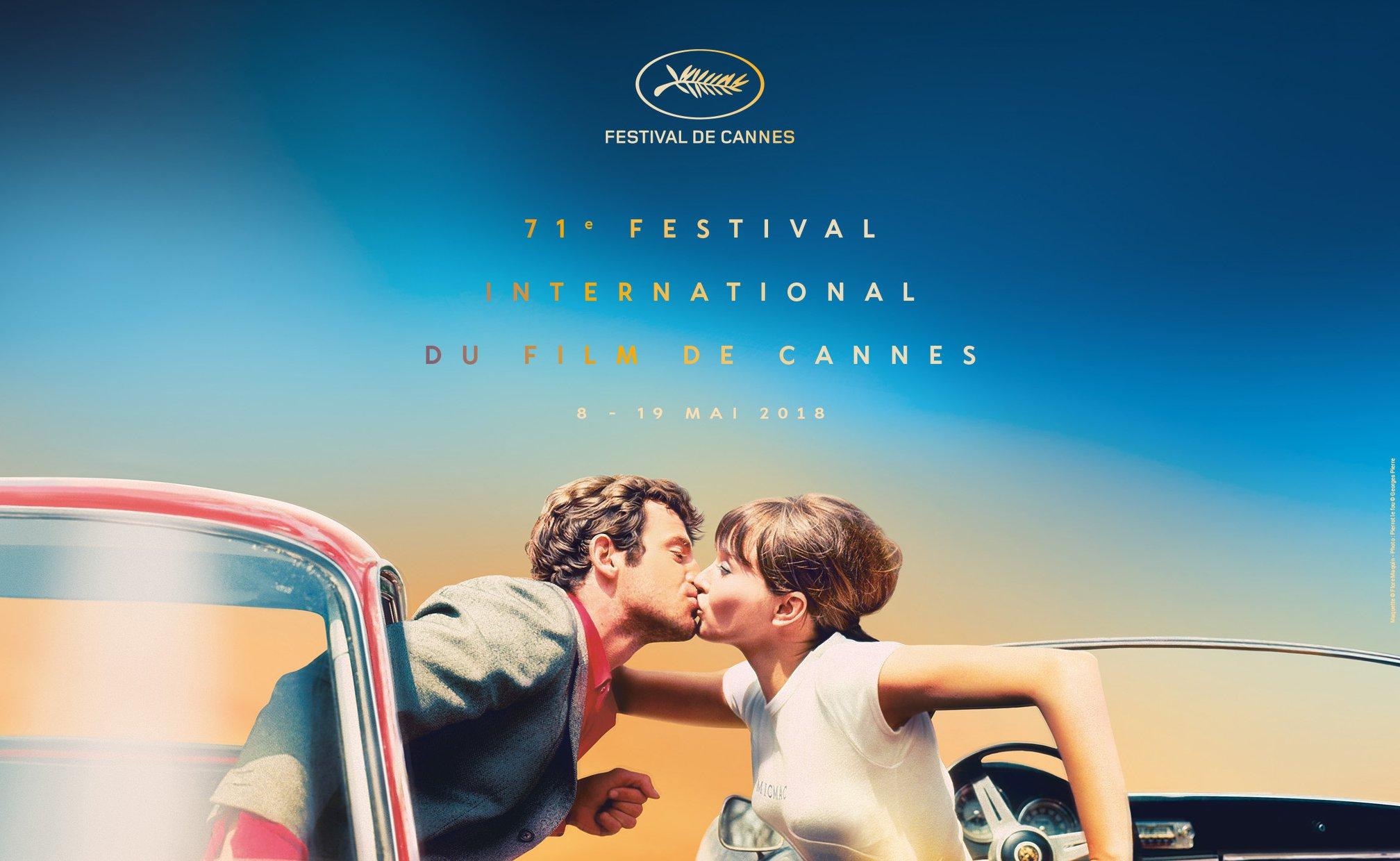 Festival de Cannes 2018 l'affiche