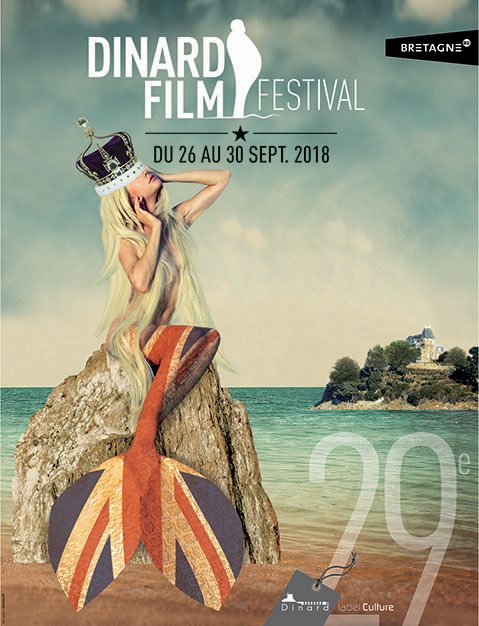 Affiche du Dinard Film Festival 2018