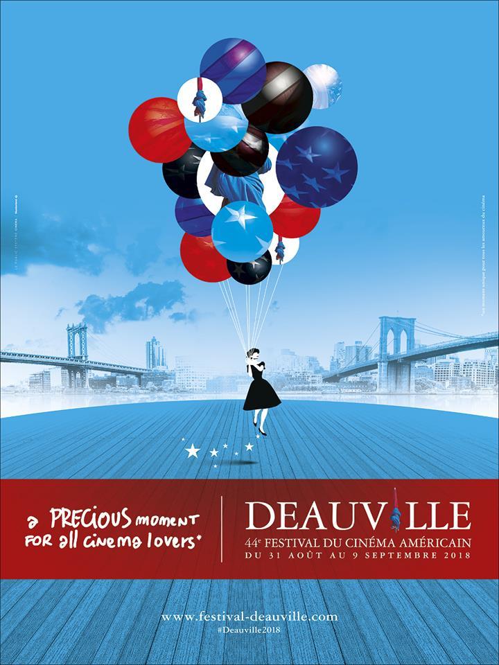 affiche du 44ème Festival du Cinéma Américain de Deauville 2018
