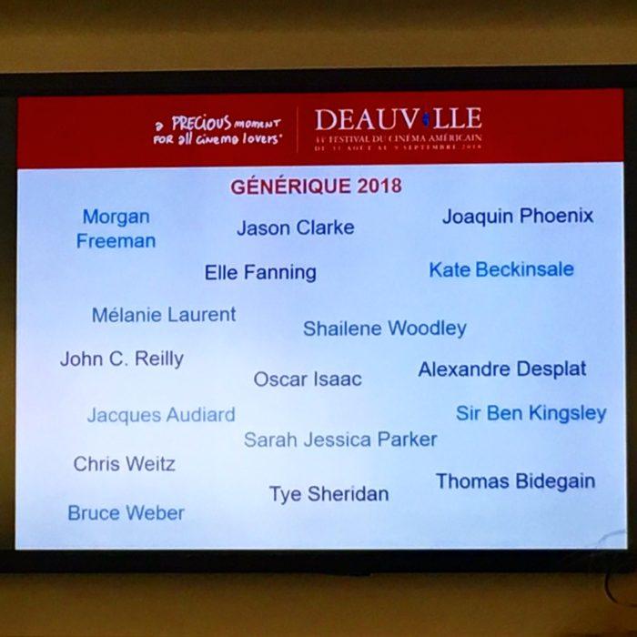 44ème Festival du Cinéma Américain de Deauville 2018 7