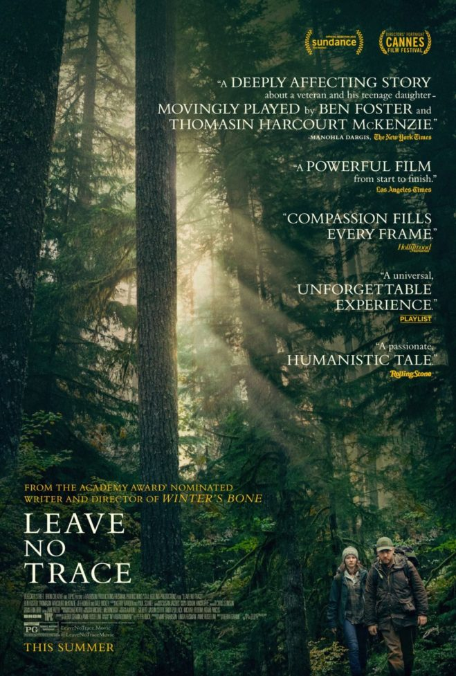 leave no trace affiche