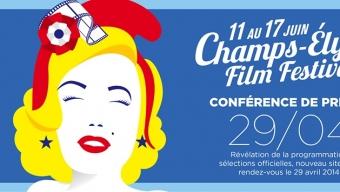 Conférence de presse du Champs-Elysées Film Festival 2014